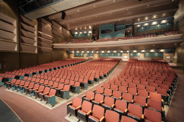 Hering Auditorium Front of House -angle